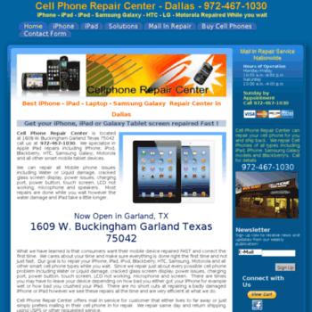 repairiphonedallas com at WI  Cell Phone Repair Center