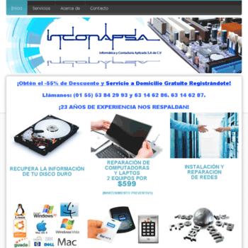 Reparacioncomputadorasdf.com.mx thumbnail