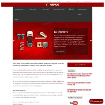 repcoinc com at WI  Electrical Contact: Contactors, Carbon