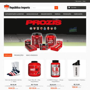 Republicaimports.com.br thumbnail