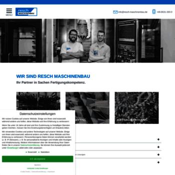 Resch-maschinenbau.de thumbnail