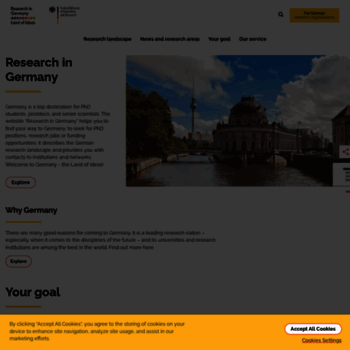 Research-in-germany.org thumbnail