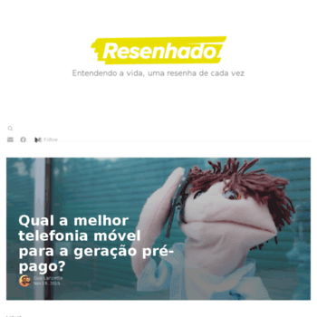 Resenhado.com.br thumbnail