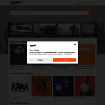 Reservix.de thumbnail