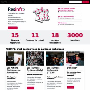 Resinfo.org thumbnail