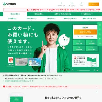 Resonabank.co.jp thumbnail