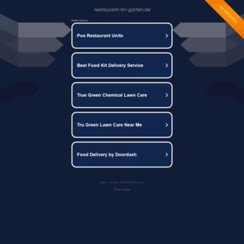 Restaurant Lin Gartende At Wi Home Restaurant Lin Garten Asia