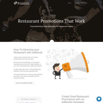 Restaurant-promotions.net thumbnail