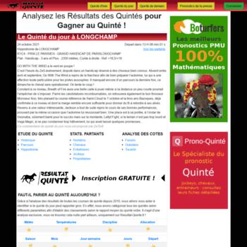 Resultat-quinte.fr thumbnail