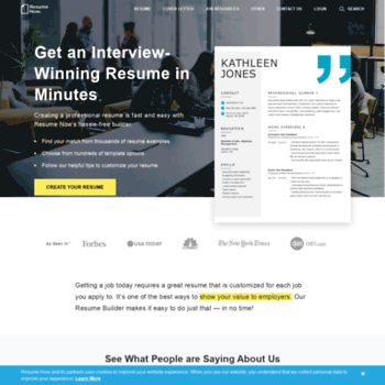 Resume Now At WI Free Builder