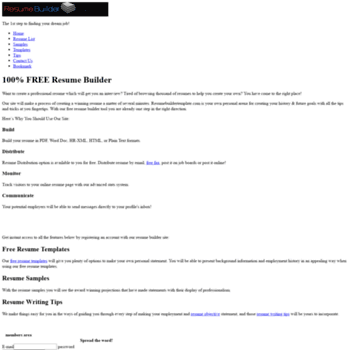 100 Free Resume Builder | Resumebuildertemplate Com At Wi Resume Builder Resume