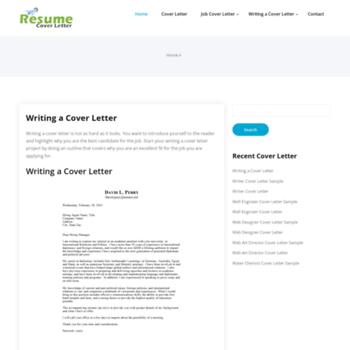 Resumecoverletter.net thumbnail