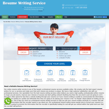 Resumewritingservice.biz thumbnail