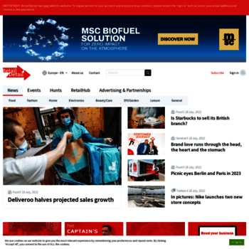 retaildetail.eu at WI. RetailDetail | All retail news from