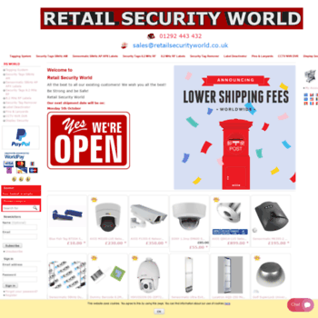 retailsecurityworld co uk at WI  Anti-Theft Security Tagging