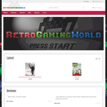 retrogamingworld co uk at WI  Retro Gaming World