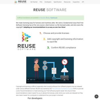 Reuse.software thumbnail