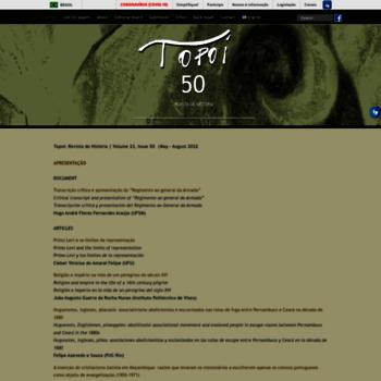 Revistatopoi.org thumbnail