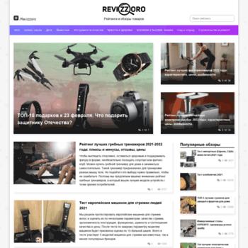 Веб сайт revizzoro.ru