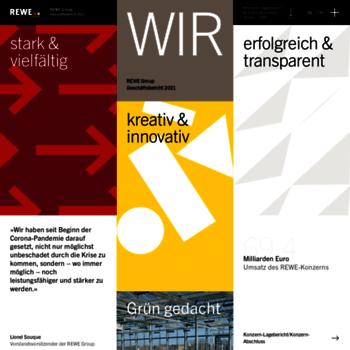 Rewe-group-geschaeftsbericht.de thumbnail