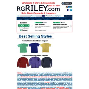 Rgriley.com thumbnail