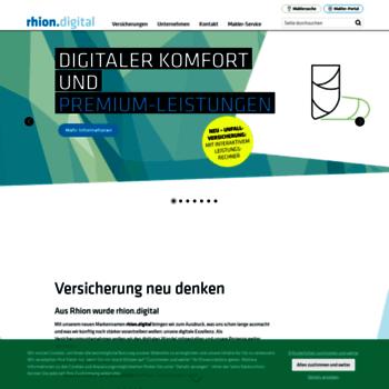 Rhion De At Wi Versicherung Trifft Zukunft Rhion Digital