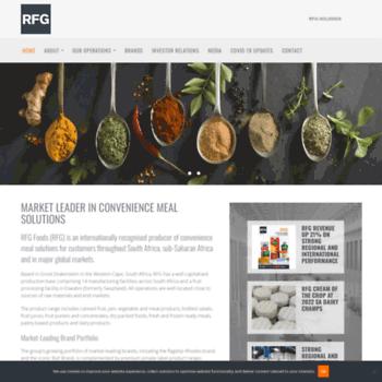 rhodesfoodgroup com at WI  Rhodes Food Group   Food