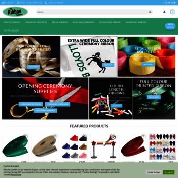 Ribboncompany.co.uk thumbnail