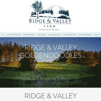 Ridgeandvalley.ca thumbnail