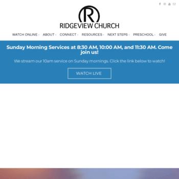 Ridgeview.net thumbnail