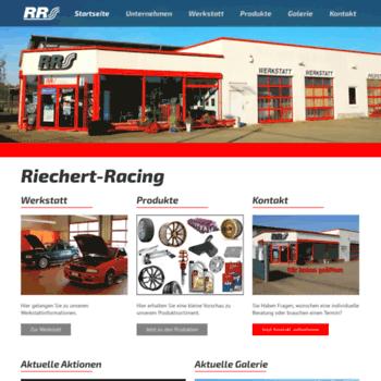 Riechert-racing.de thumbnail