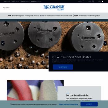 rio grande jewelry supply