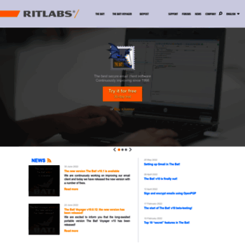 ritlabs com at WI  Ritlabs, SRL - secure email client software for