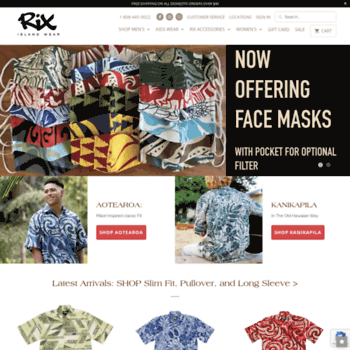 879ffbd8 rixislandwear.com at WI. Rix Island Wear