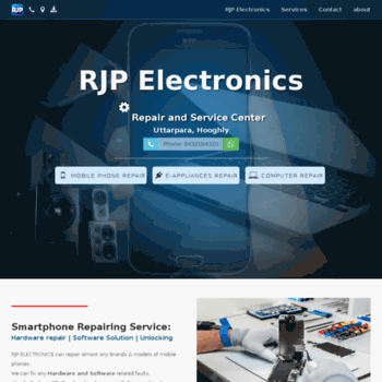 Rjpelectronics.in thumbnail