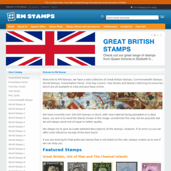 Rm-stamps.co.uk thumbnail