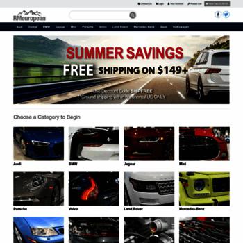 European Auto Parts >> Rmeuropean Com At Wi European Auto Parts At Discount Prices Rm