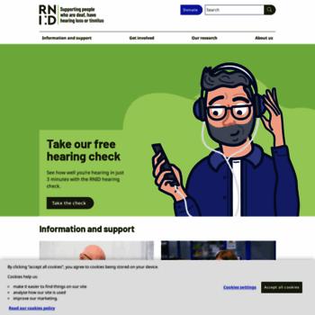 Rnid.org.uk thumbnail