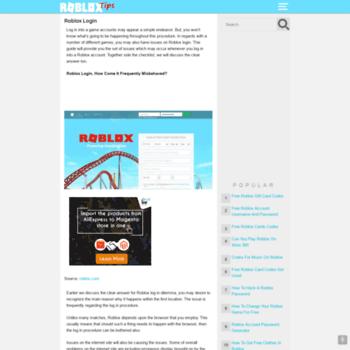 robloxlogins org at WI  Roblox Login • robloxlogin