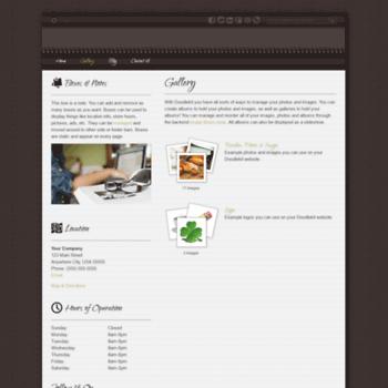 Веб сайт robmeyer.doodlekit.com