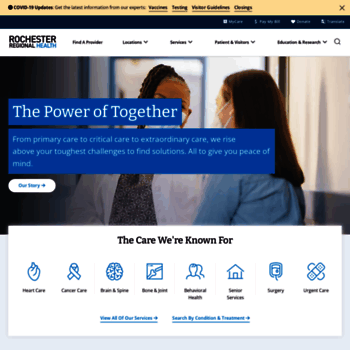 Rochestergeneral.org thumbnail