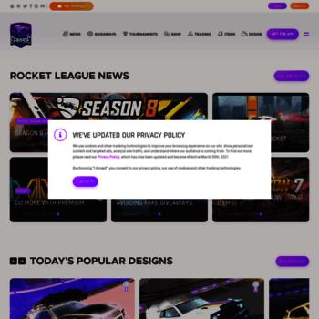 Rocket-league.com thumbnail