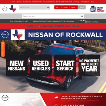 Fenton Nissan Of Rockwall >> Fenton Motors Group At Website Informer