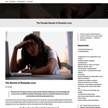 Romanticlovesecrets.com thumbnail