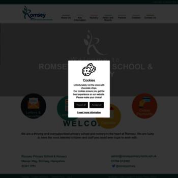 Romseyprimary.co.uk thumbnail