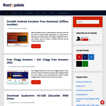 Root Update A Blog For Android Root Update And Reviews