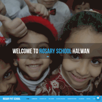 Rosaryschoolshj Com At Wi Rosary School Sharjah