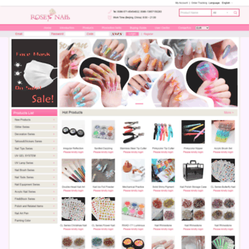 Rose-nail.net thumbnail
