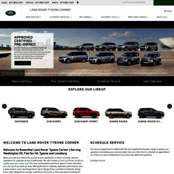 Rosenthal Land Rover >> Rosenthallandrover Com At Wi Rosenthal Land Rover Vienna
