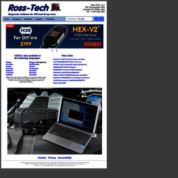 ross-tech com at WI  Ross-Tech: Home